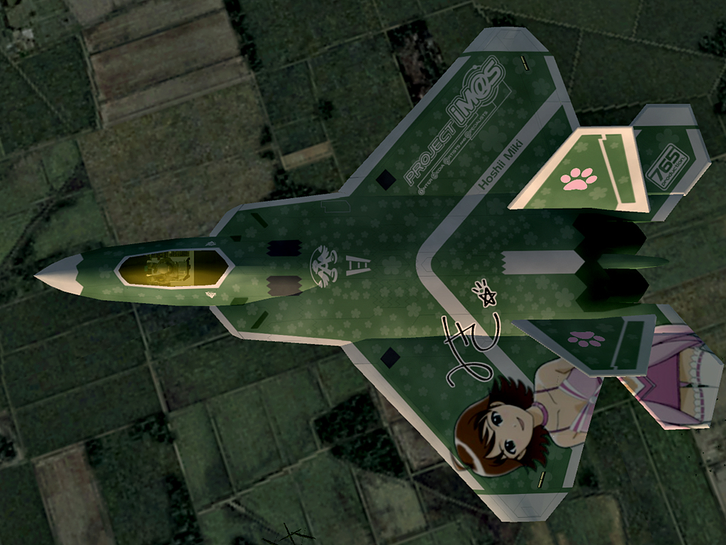 F-22A Raptor -THE IDOLMASTER MIKI-EX- #2