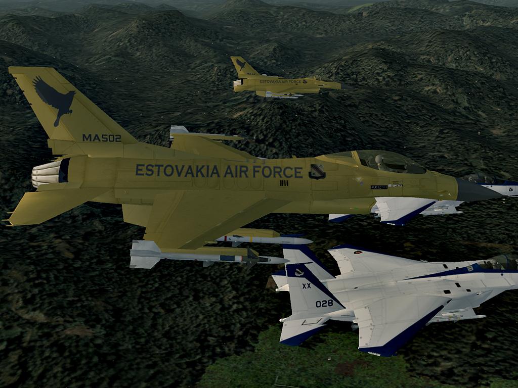 F-16C -EDINOROG-
