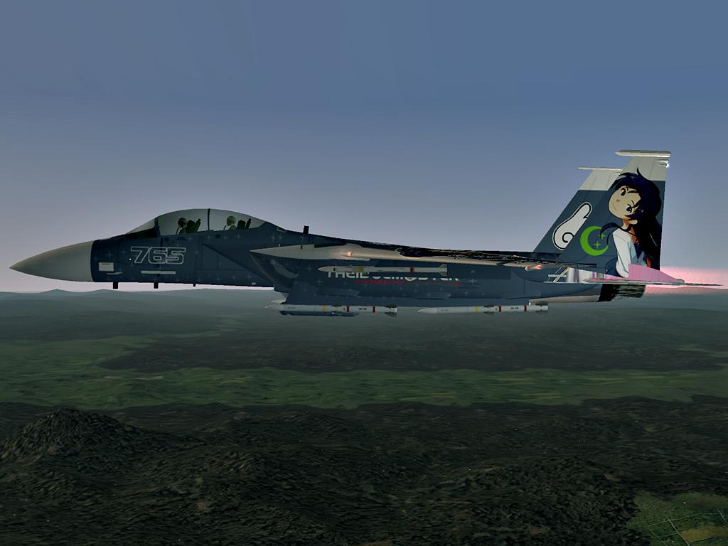 F-15E Strike Eagle -THE IDOLMASTER CHIHAYA- #14