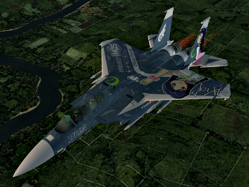 F-15E Strike Eagle -THE IDOLMASTER CHIHAYA- #13
