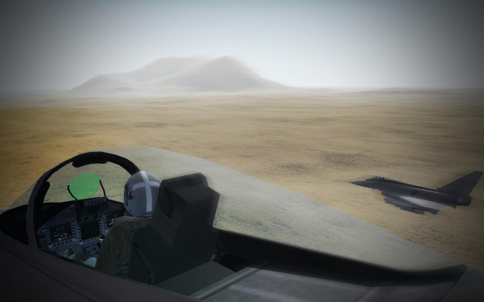 Typhoons over the desert