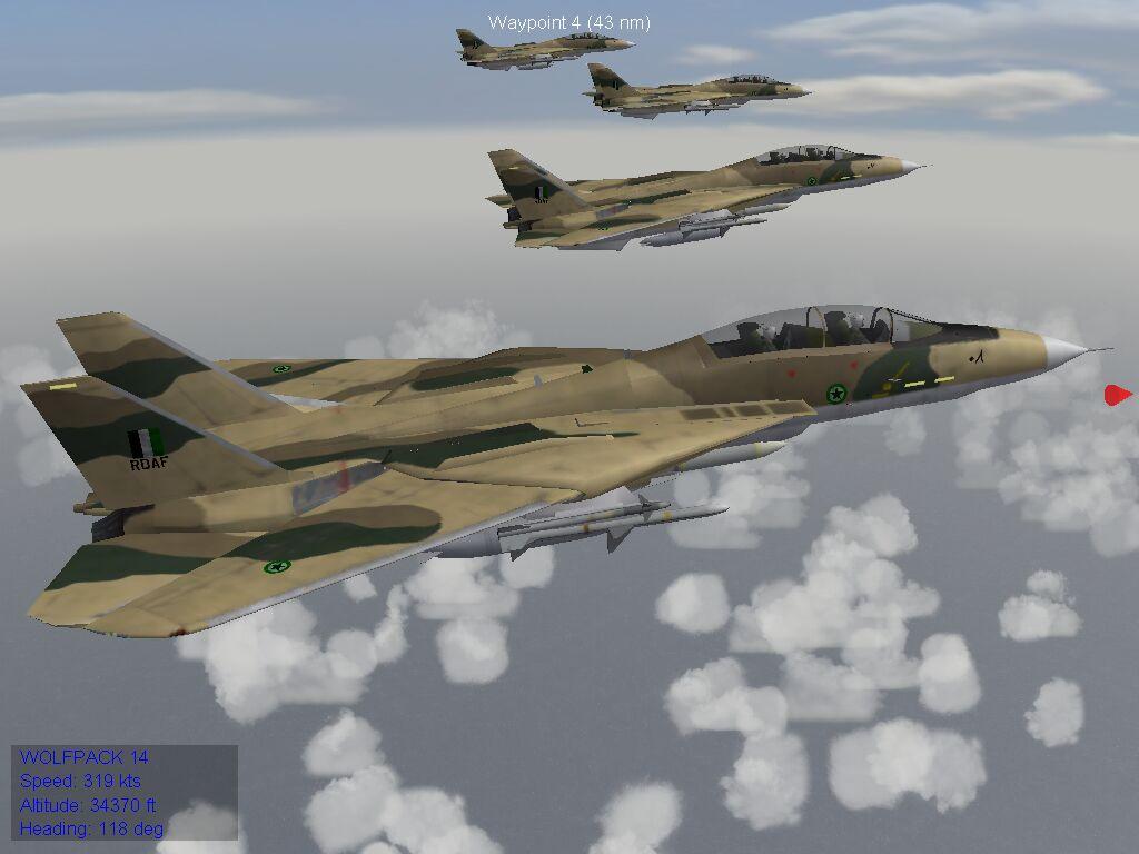 F-14A - Royal Dhimari Air Force, 1986