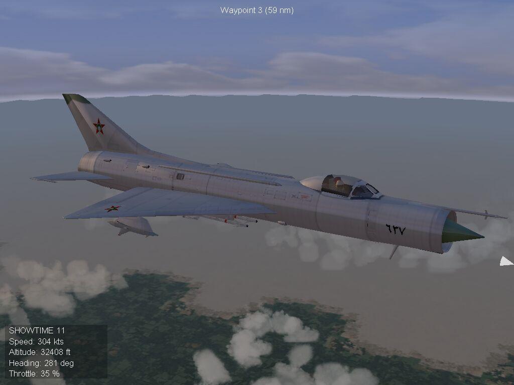 Su-11 Fishpot - Parani Air Force, 1968
