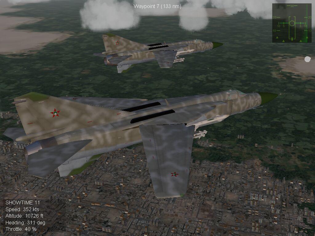 MiG-23MLD Flogger - Parani Air Force, 1986