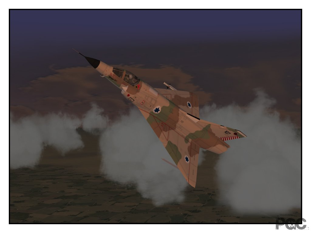 mirage IIICJ of the 1st Fighter Squadron IAF