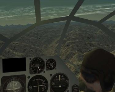 B-29 over Himalayas