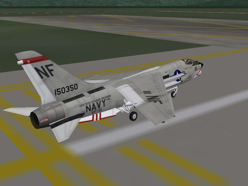VF-51 F-8J