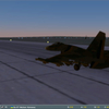 Su-27 Vinnitsa 78 SQ Night Takeoff