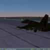 Su-27 Vinnitsa 78 SQ Night Takeoff