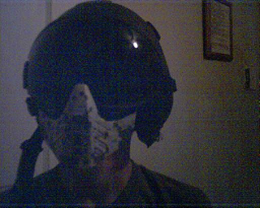 Me and my custom helmet and mask