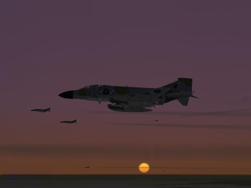 Phantoms at sun set