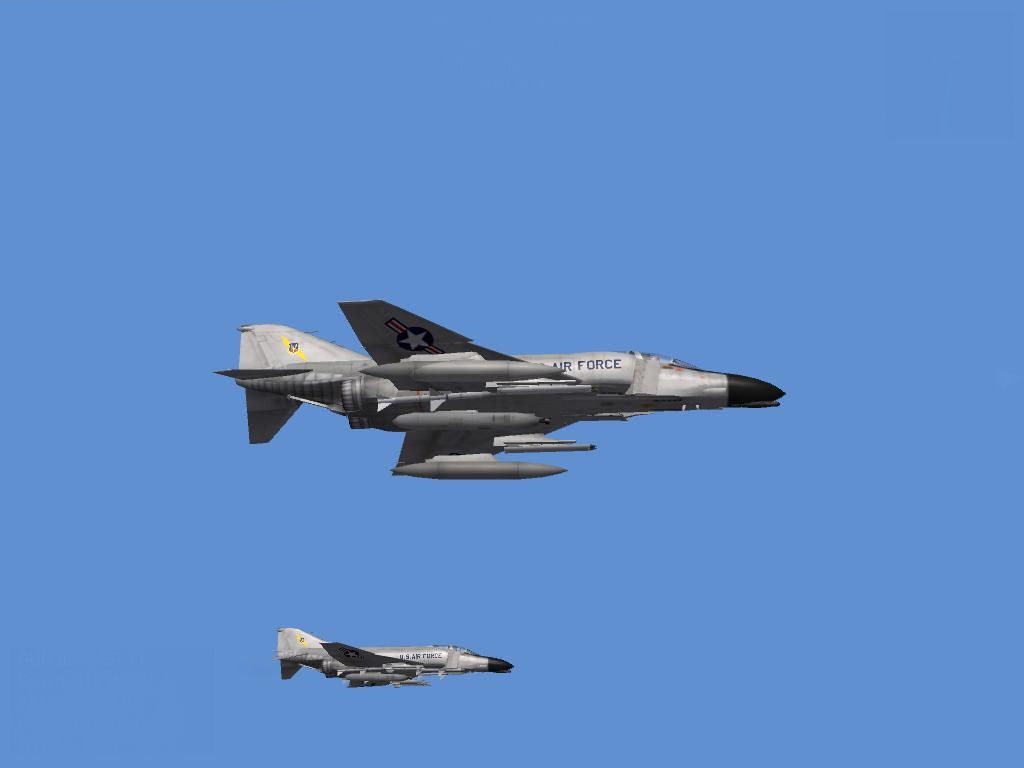 2 laden USAF Phantoms