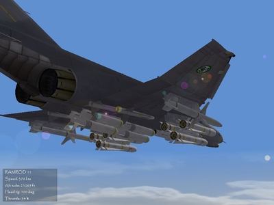 Doghouse's F-4ES With F-404 Engine Upgrade #3