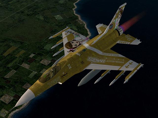 F-16C -THE IDOLMASTER AMI, MAMI SET-5