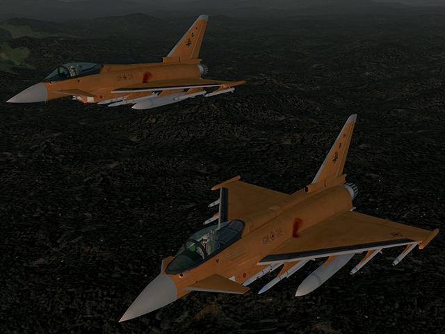 Typhoon -ORANGE WING-