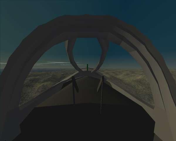 J-8-II ... deep 3D interior