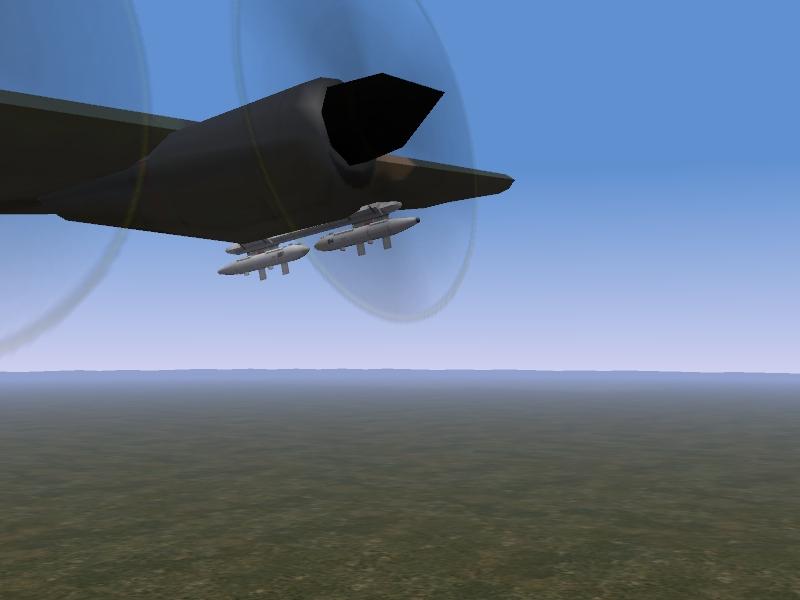 AC-130A ECM PODS
