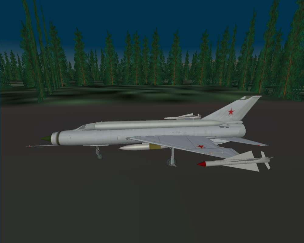 lindr R-4 missiles on InSky J-8 mutant molded to MiG Ye-152M