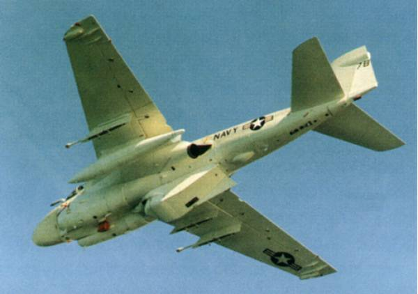 Underside shot of A-6C with TRIM Pod