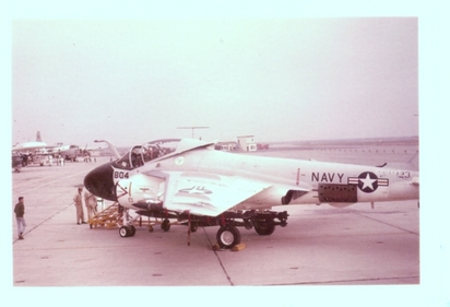 A-6A of VAH-123 at NAS Whidbey Island