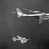 KA-6D intercepting a TU-95D Bear
