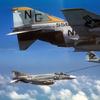 VA-165 KA-65 and VF-92 F-4J's circa 1972