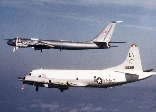 P-3C Intercepting a TU-142 Bear F