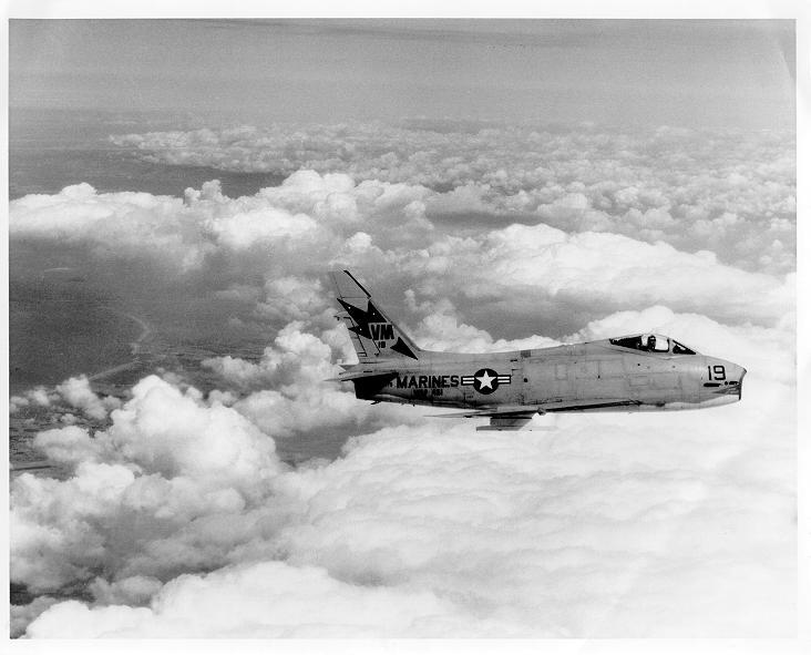 FJ-4 Fury of VMF-451