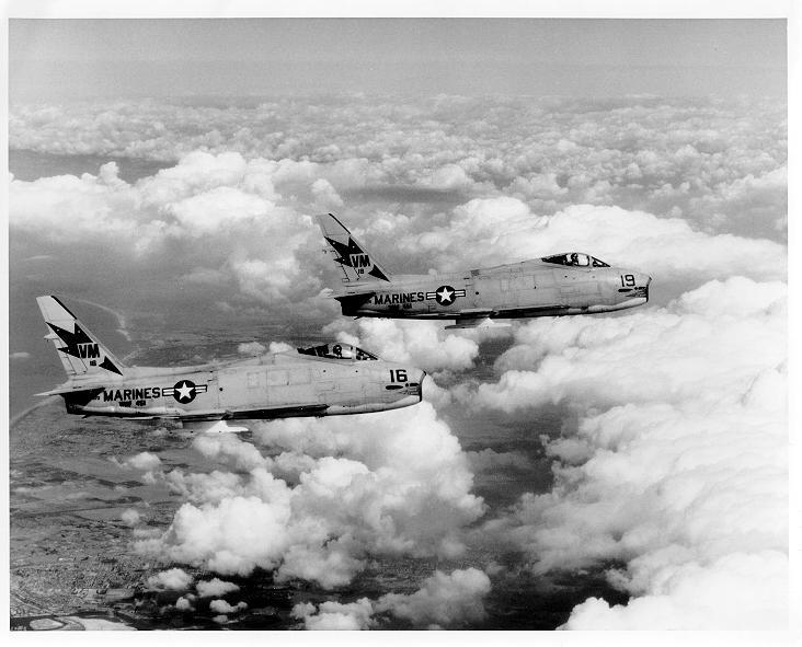 FJ-4's of VMF-451