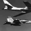 TU-16C of AV-MF and F-18A of VMFA-323