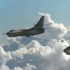 KA-3B Passing gas to a Pacific Missile Center A-6E