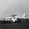 F9F-8P Cougar on the USS Boxer