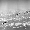 F9F-8 Cougars of VF-142 in flight