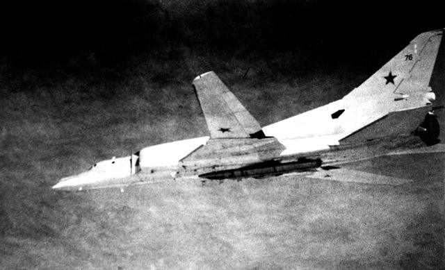 TU-22M Backfire C with a AS-4 Kitchen loaded