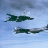 TU-95D and F-14A of VF-102