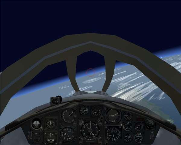 F-104C at 80k feet 01