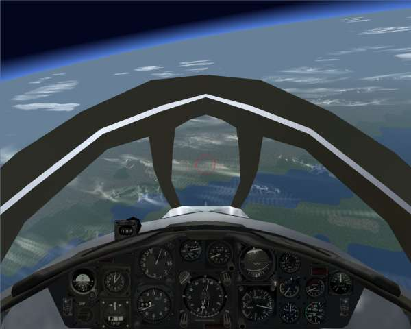F-104C at 80k feet 02