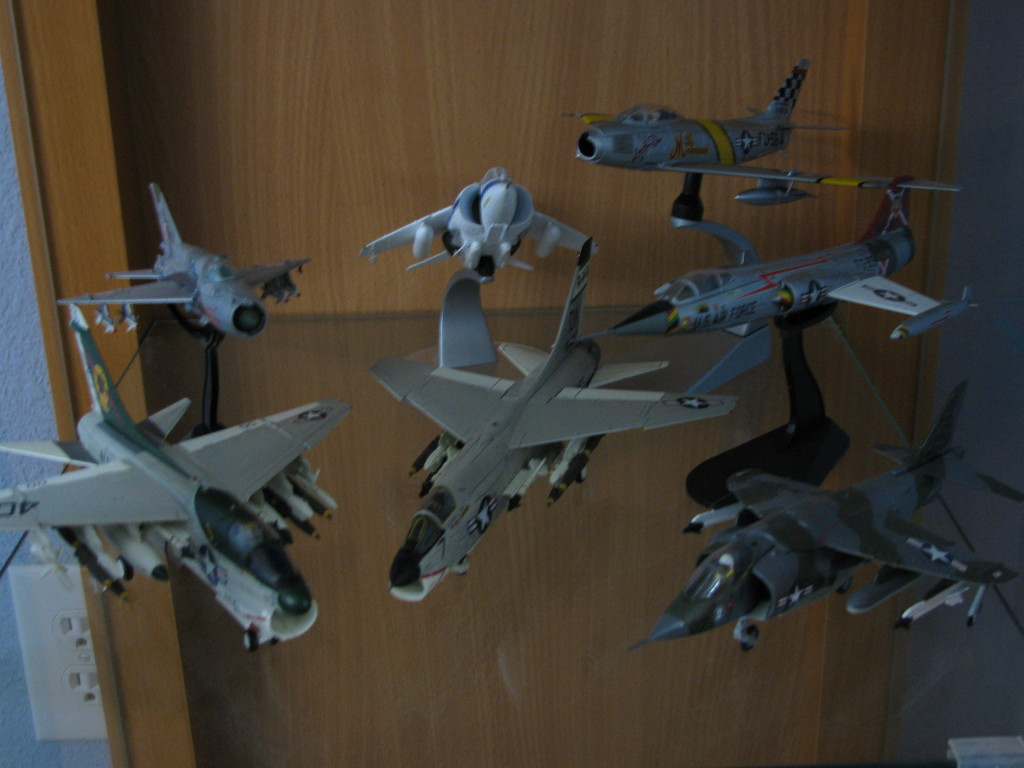 Century Wings A-7 & F-8