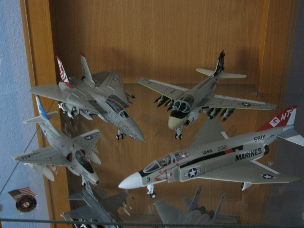 Century Wings F-14 and A-6
