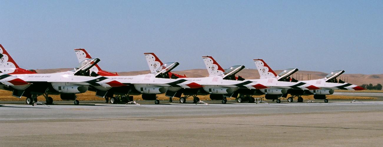 Thunderbirds Travis AFB 2008