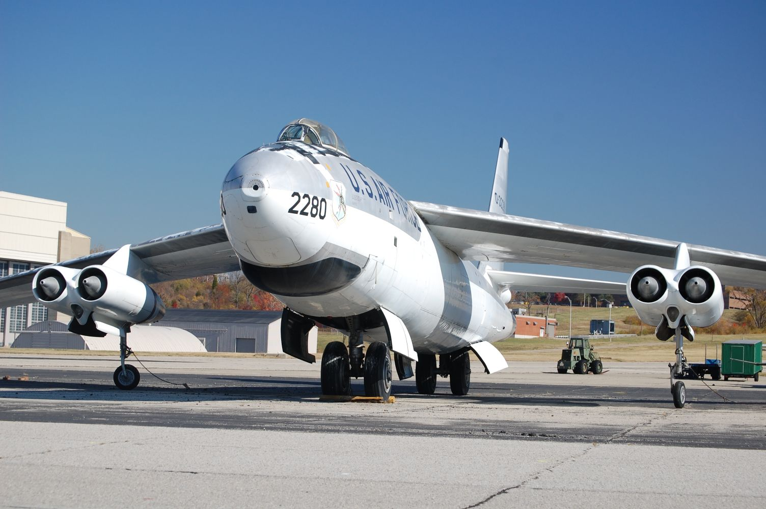 B-47E at WPAFB
