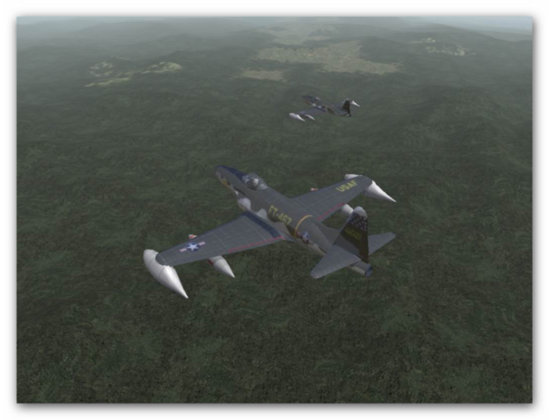 ''F-80s in mision CAS over Korea, Spring 1951...&#39