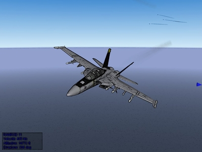 My flying comics style screenshot