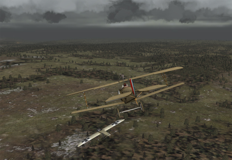 Phase 3: Nieuport Downing an E.III
