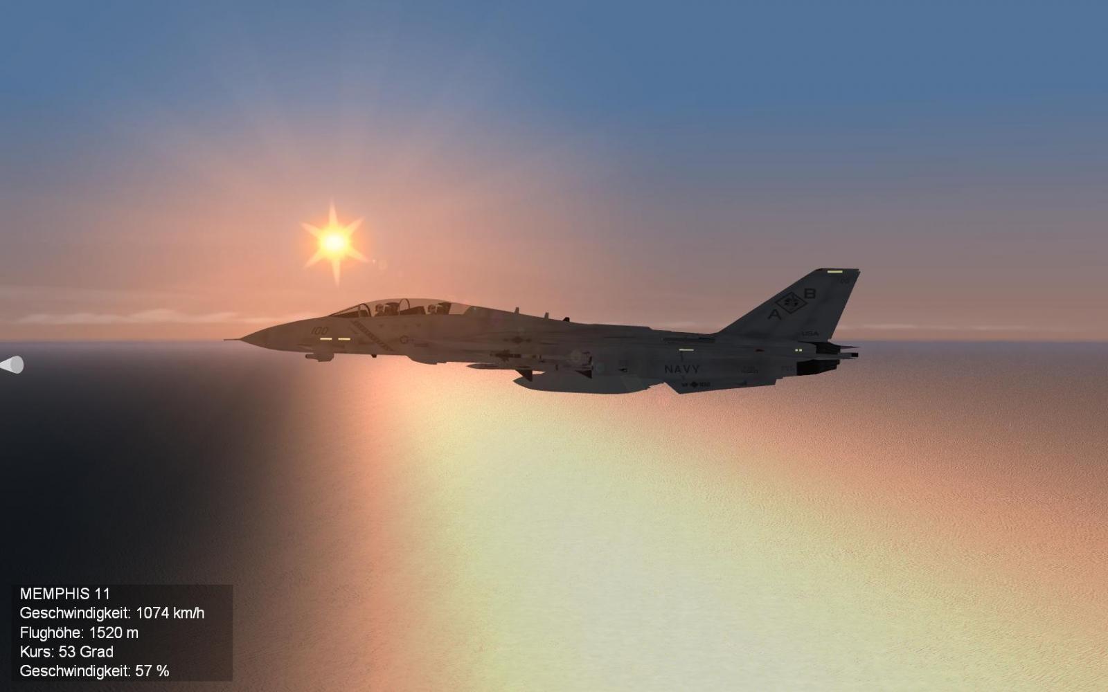 Tomcat dawn