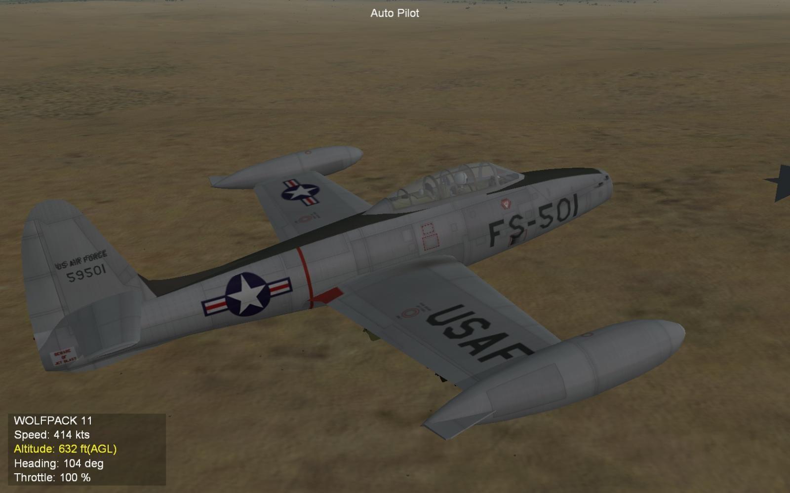 F-84G Morning Run