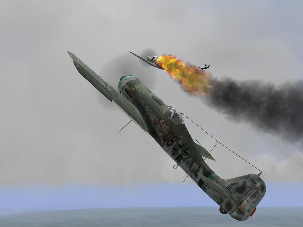 FW190 VS P-39