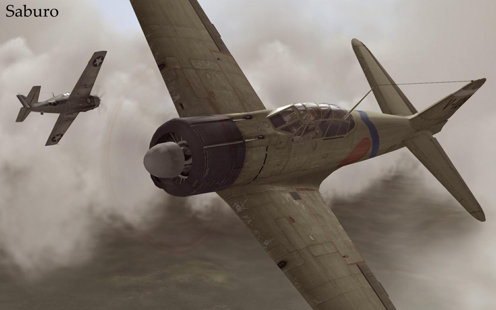 Long day over Guadalcanal