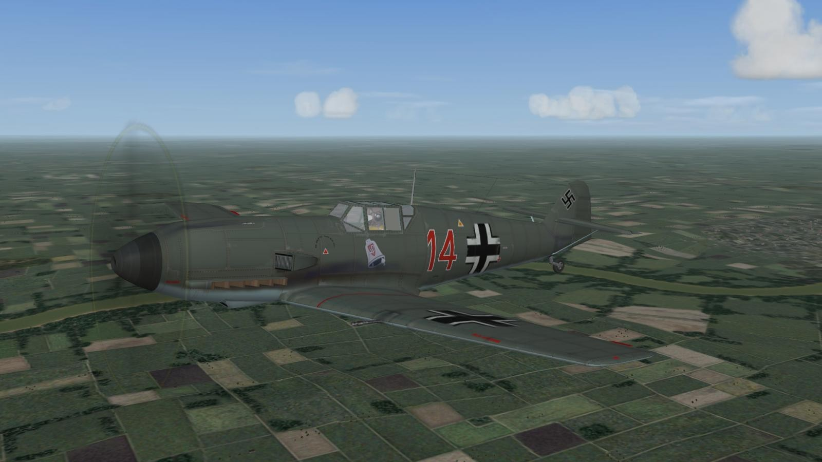 Bf 109 E-1, II./JG 3, 1939/40 (well, it's a E-3 :D)