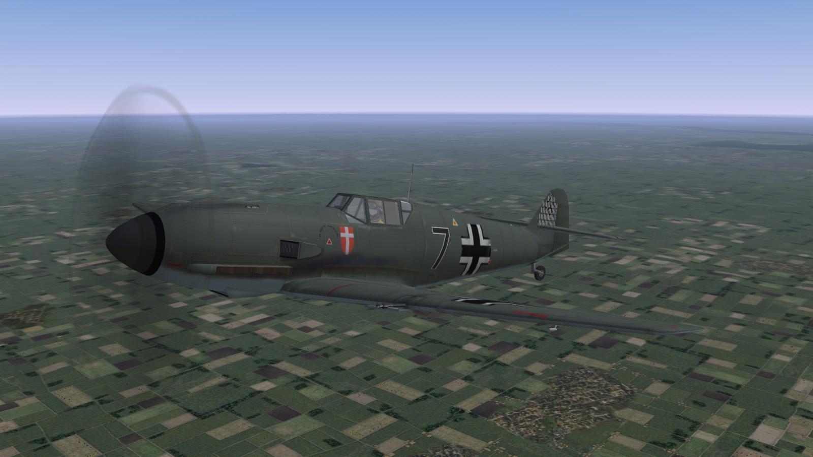 Bf109 E-1, II./ZG 1, 1939